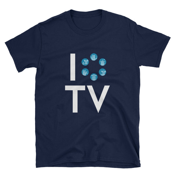 I Love TV T-Shirt