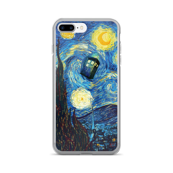 Doctor Who Starry Night iPhone 7/7 Plus Case