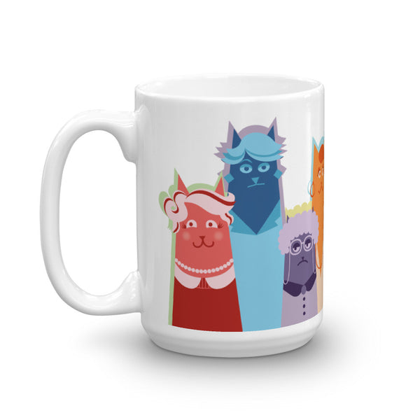 Golden Cats Mug