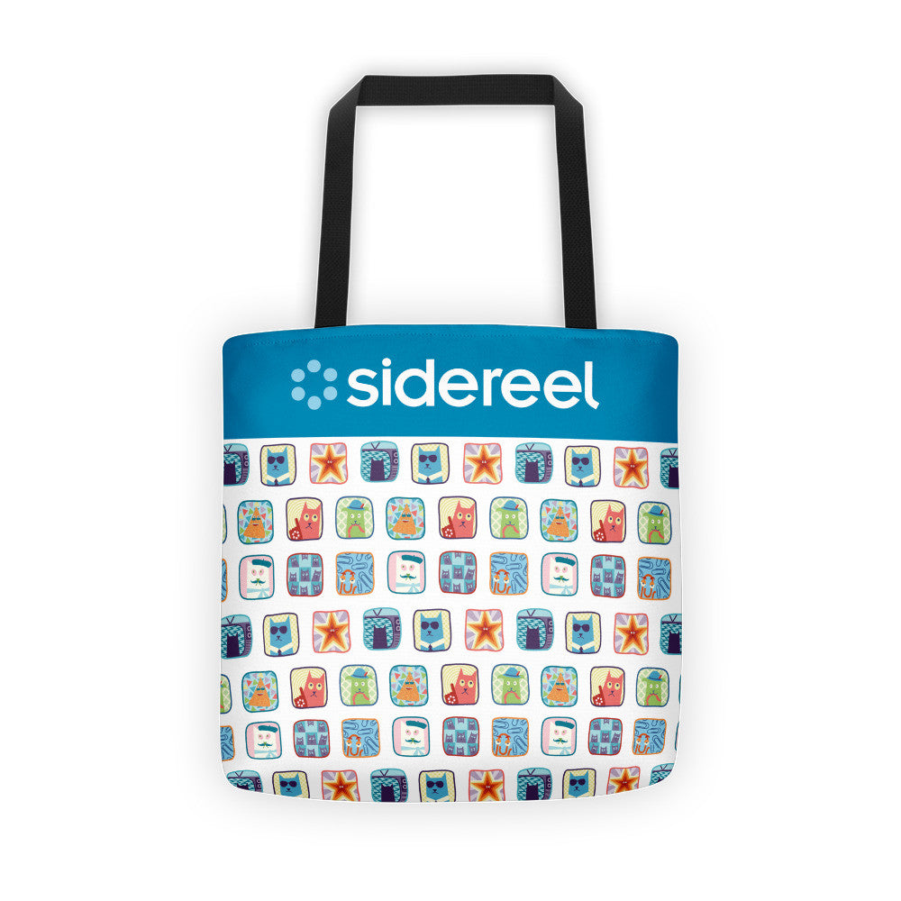 SideReel Badges Tote Bag