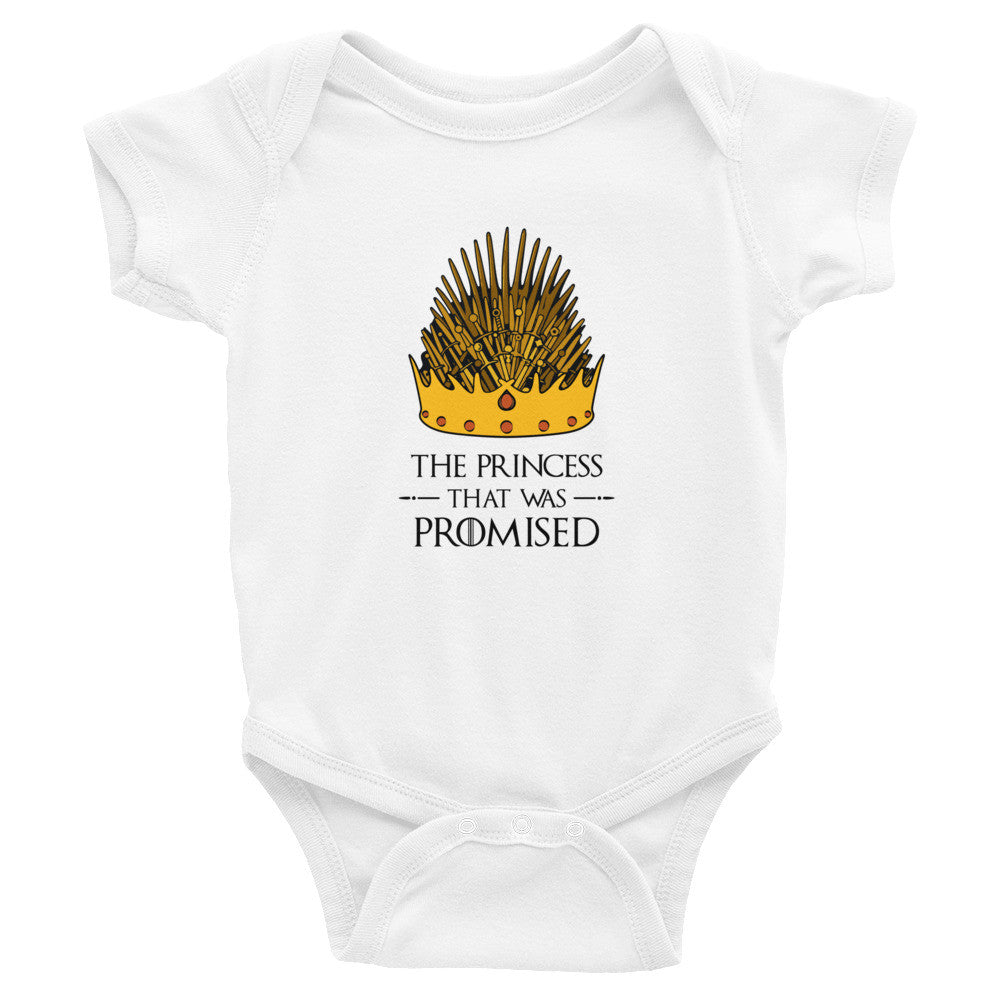 The Princess That Was Promised Baby Onesie