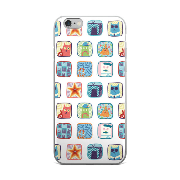 SideReel Badges iPhone case