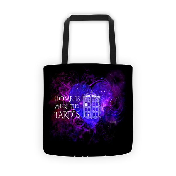 Home is Where the Tardis Tote bag