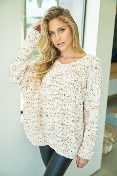 *NEW* Khloe Confetti Sweater