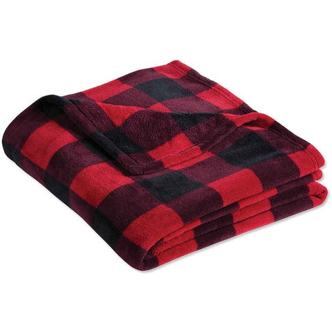*DOORBUSTER* Plaid Fleece Blanket