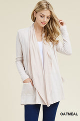 *NEW* Matilda Hacci Knit Cardigan ~ Oatmeal