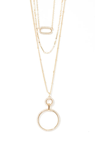 *New* Hillary Necklace ~ Gold