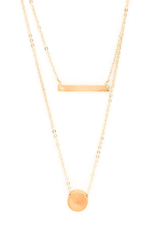 *New* Presley Necklace ~ Gold
