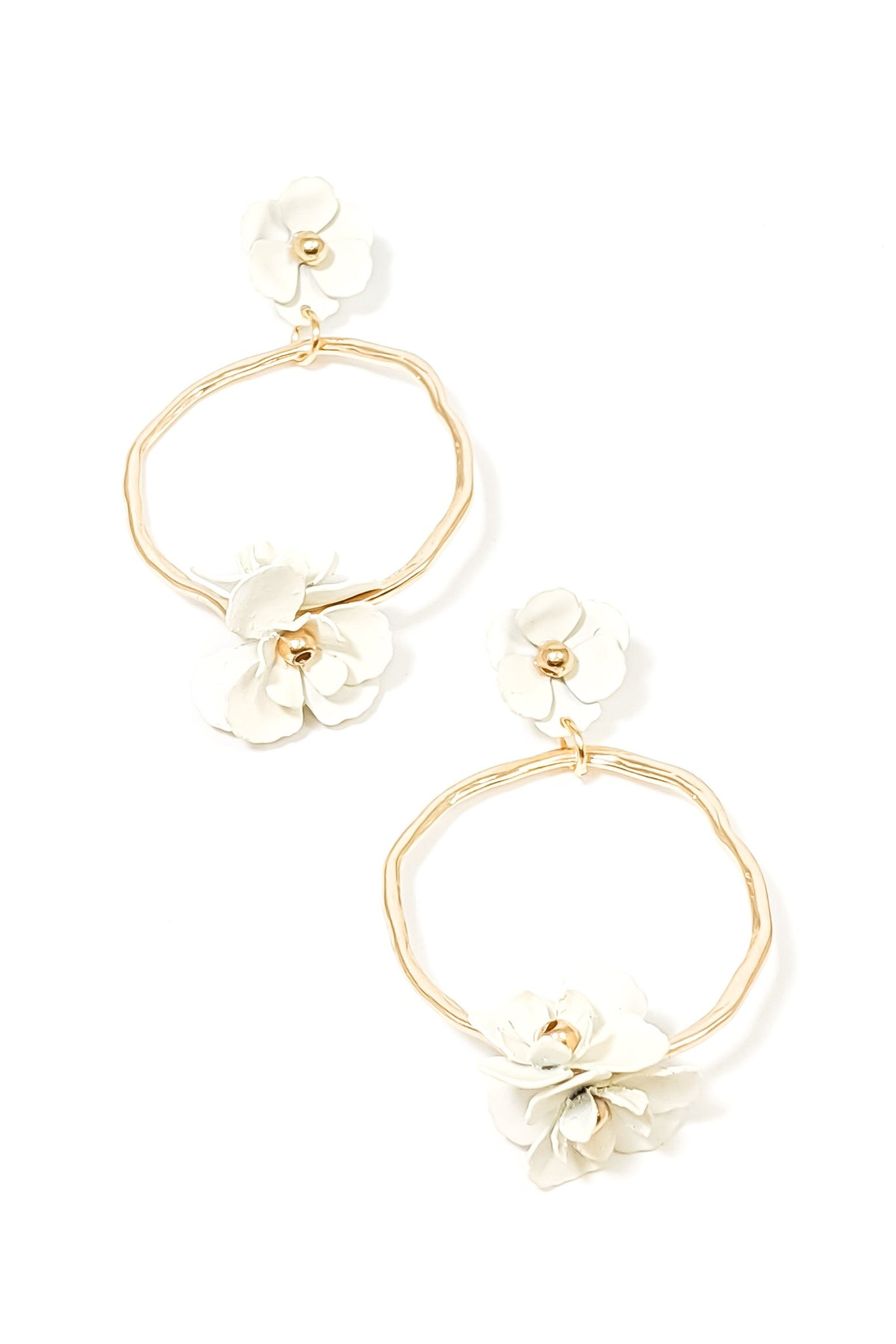 Stacy Earrings ~ Gold Ivy