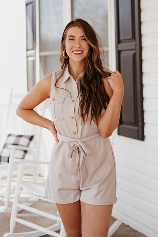 *NEW* Casey Button Up Romper