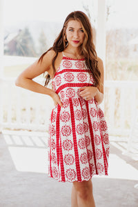 Jaclyn Embroidered Dress