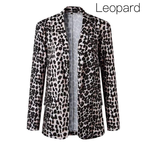 {Last Chance} Ronnie Blazer ~ Leopard *FINAL SALE* - Be You Boutique