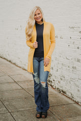 {LAST CHANCE} Sunny Cardigan ~ Yellow