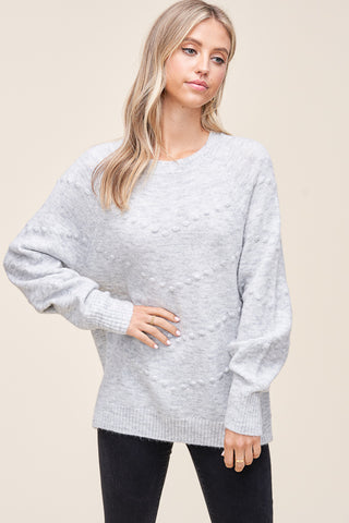 Kensley Pom Pom Sweater