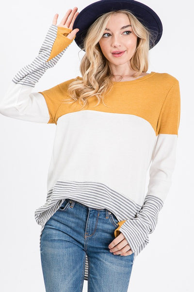 Margot  Colorblock Top