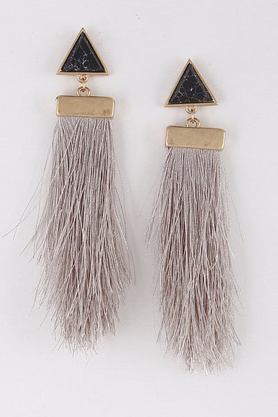 Everyday Tassel Earrings ~ Multi - ShopBeYouBoutique