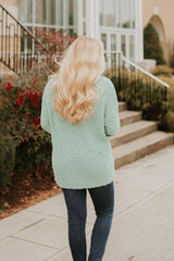 *NEW* Pull On Comfort Sweater ~ Sage