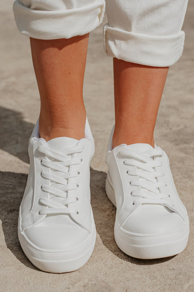 Cutie Patootie Lace Up Tennis Shoes