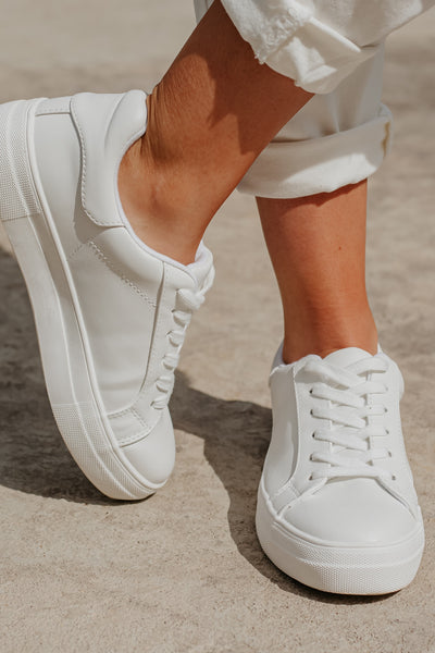 {Last Chance} Cutie Patootie Lace Up Tennis **FINAL SALE** Shoes