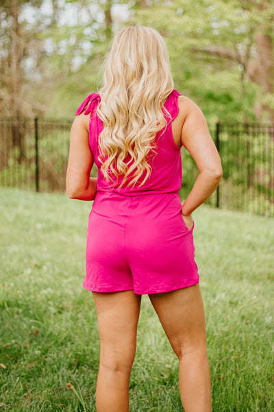 {Last Chance} Avery Sleeveless Romper *FINAL SALE*