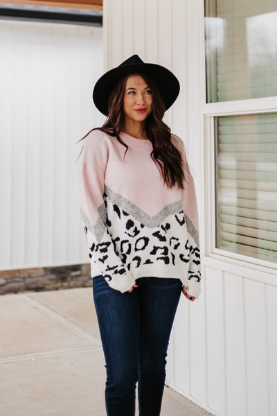 *NEW* Samantha Animal Print Sweater
