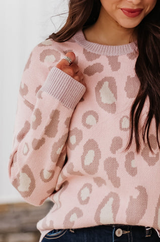 *NEW* Grace Pastel Animal Print Sweater