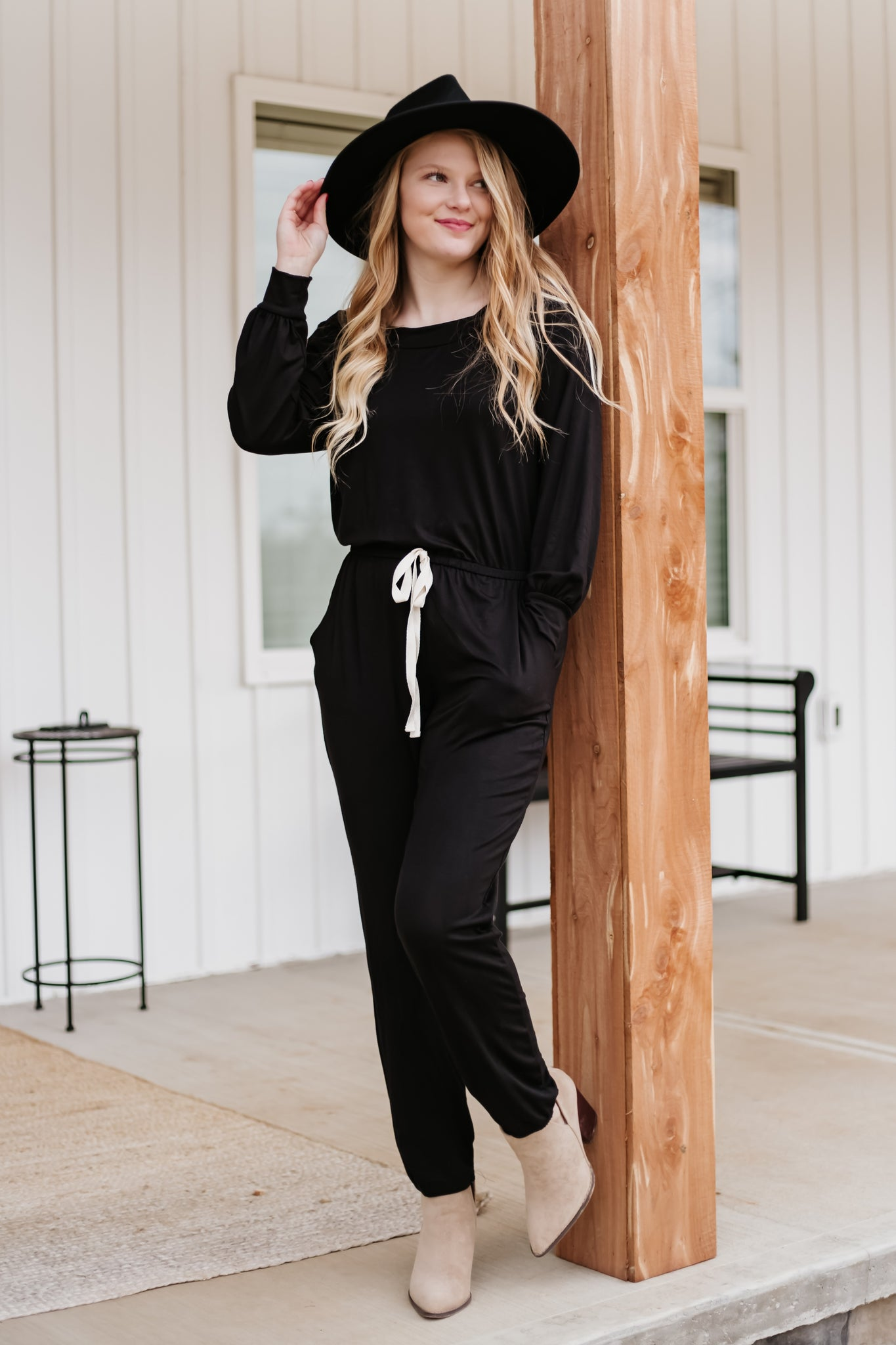*NEW* Allison Off Shoulder Jumpsuit