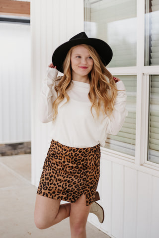*NEW* Natalie Animal Print Mini Skirt