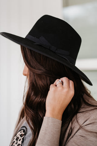 *NEW* Hannah Boho Hat ~ Black