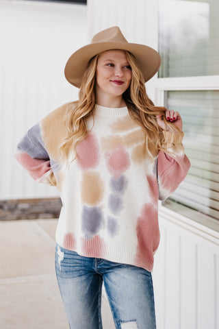*NEW* Delilah Tie Dye Sweater