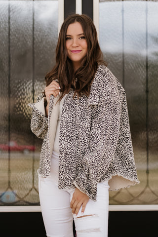 *NEW* Hazel Animal Print Jacket