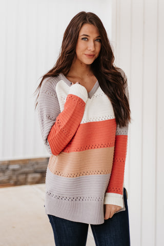 *NEW* Sophie Color Block Sweater