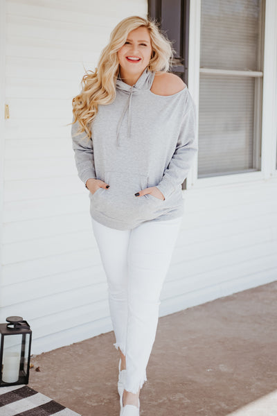 {Last Chance} Diana Oversized Cut Out Hoodie **FINAL SALE**