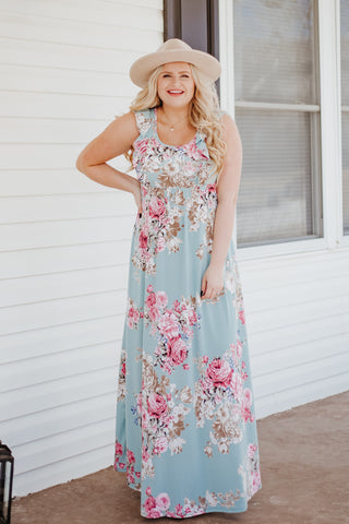 Jaelyn Floral Maxi Dress