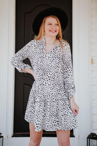 {Last Chance} Christina Animal Print Dress **FINAL SALE**