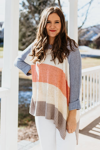 *NEW* Gabriela Multi Color Striped Sweater