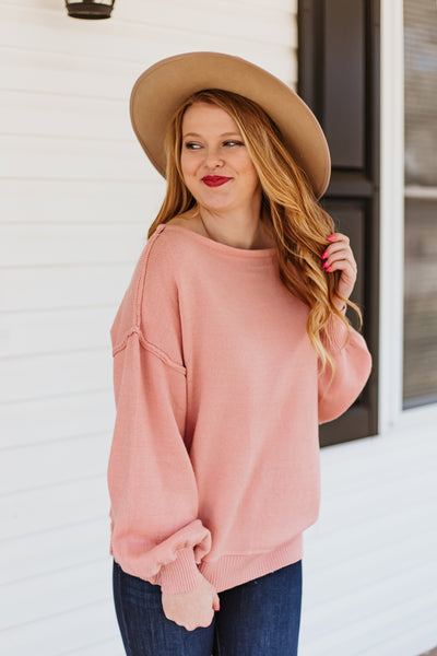 *NEW* Ginger Scoop Neck Sweater