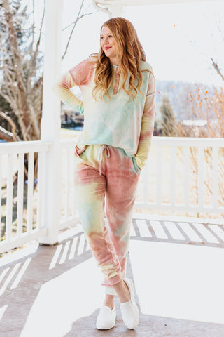 *NEW* Melissa Tie Dye Lounge Set