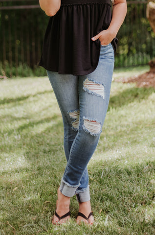 *NEW* Kancan Jenna High Rise Ankle Skinny Jeans