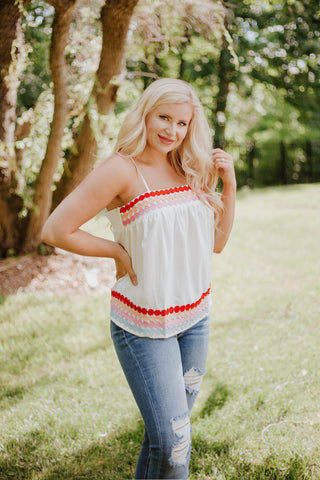 *NEW* Melanie Square Neck Baby Doll Top