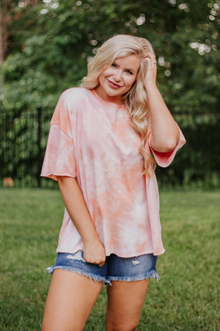 *NEW* Tie Dye Dreams Short Sleeve Top