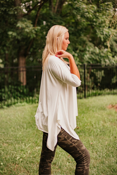 {Last Chance} Annalee Solid Knit Top **FINAL SALE**