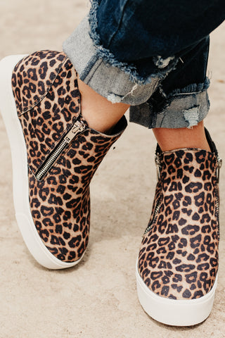 *NEW* Taylor High Top Cheetah Shoe