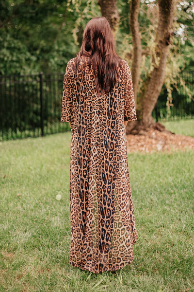 *New* Crazy Train Dixie Duster ~ Leopard