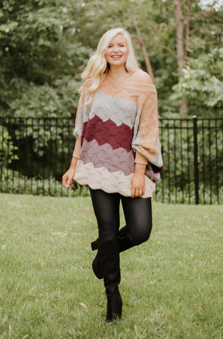 *NEW* Amaia Color Block Knit Sweater