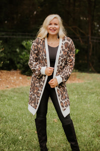 *NEW* Anika Animal Print Comfy Cardigan