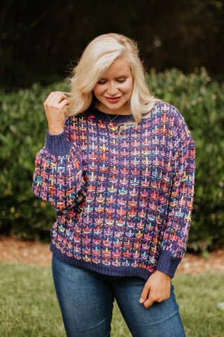 *NEW* Madalyn Navy Pullover Sweater
