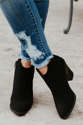 *NEW* Predict Black Bootie