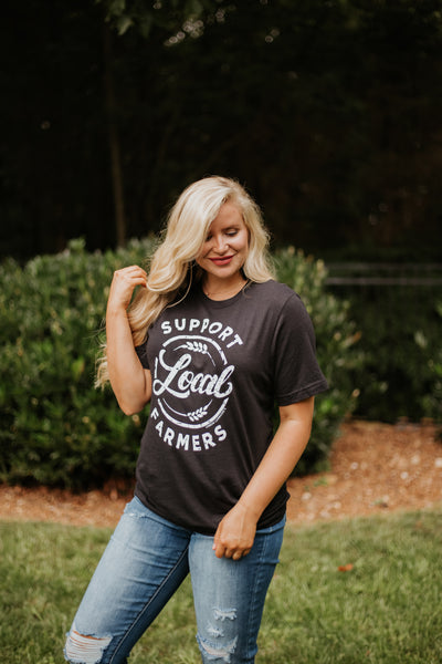 *NEW* Support Local Farmers Tee