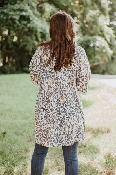 {Last Chance} Tori Cheetah Print Cardigan *FINAL SALE*